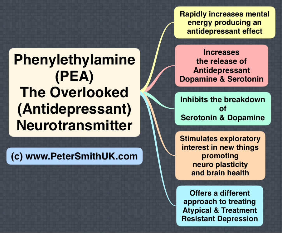 Phenylethylamine (PEA) deficiency atypical and treatment resistant depression treatment